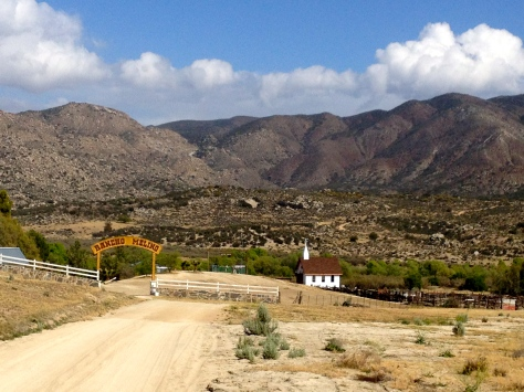 Approach to Meling Ranch.