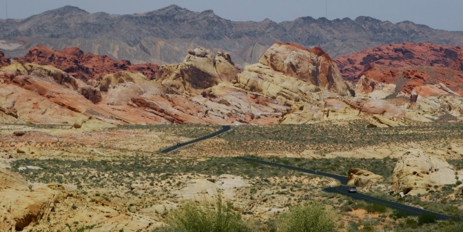 We bypassed Sin City for the Valley of Fire