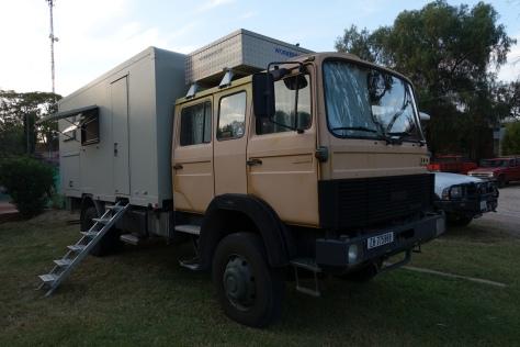 Iveco Magirus truck w. ORMOCAR camper / San Miguel Allende, Mexico