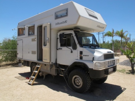 Bremach T-rex with Bimobil / LaPaz, BCS (Side)