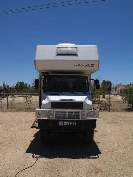 Bremach T-rex with Bimobil / LaPaz, BCS (Front)