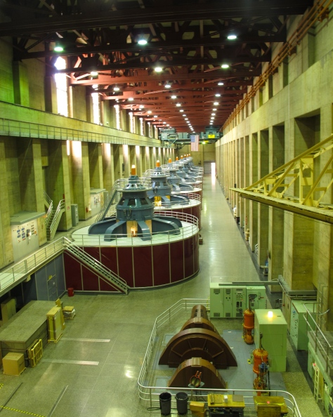 Francis-turbine generators
