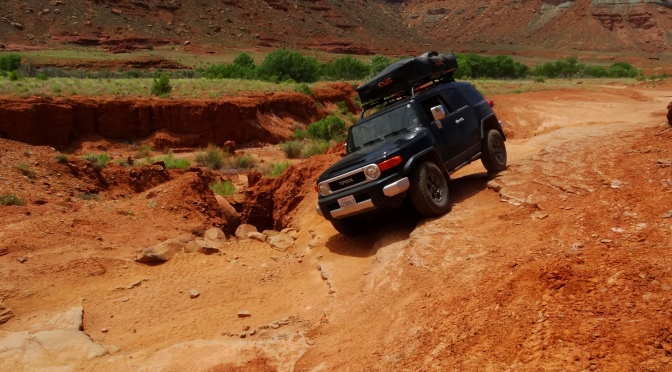 Getting off-road in Moab