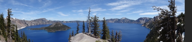 An afternoon at Crater Lake