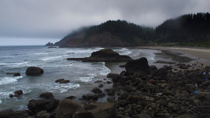Beaches along the Oregon Coast
