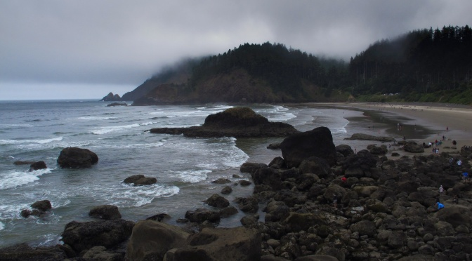 Beaches along the Oregon Coast